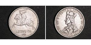 10 Litas Lithuania (1991 - ) Silver