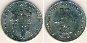 10 Mark 東德 (1949 - 1990) 銅/镍