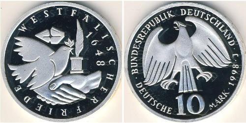 10 Mark Allemagne Argent
