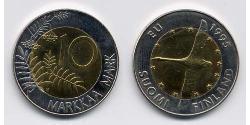 10 Mark Finland (1917 - ) Bimetal