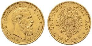 10 Mark Königreich Preußen (1701-1918) Gold Friedrich Wilhelm III (1770 -1840)