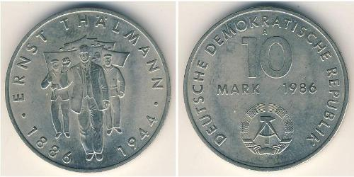 10 Mark Deutsche Demokratische Republik (1949-1990) Kupfer/Nickel