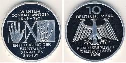 10 Mark Deutschland Silber