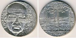 10 Mark Finnland (1917 - ) Silber Urho Kekkonen