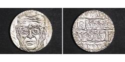 10 Mark Finnland (1917 - ) Silber Juho Kusti Paasikivi
