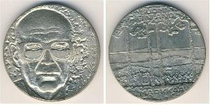 10 Mark Finland (1917 - ) Silver Urho Kekkonen