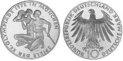 10 Mark West Germany (1949-1990) Silver