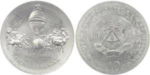 10 Mark République démocratique allemande (1949-1990)