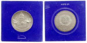 10 Mark República Democrática Alemana (1949-1990)