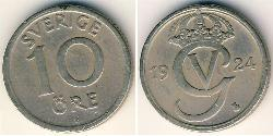 10 Ore Sweden Bronze/Nickel