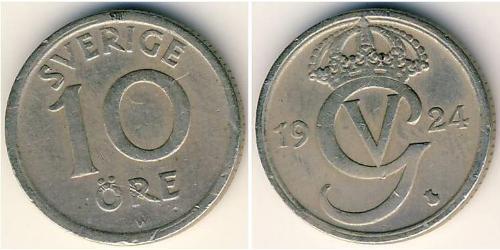 10 Ore Sweden Bronze/Nickel