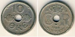 10 Ore Denmark Copper/Nickel