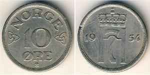 10 Ore Norway Copper/Nickel