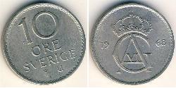 10 Ore Schweden Kupfer/Nickel