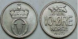 10 Ore Noruega Níquel/Cobre