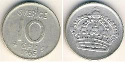 10 Ore Sweden Silver