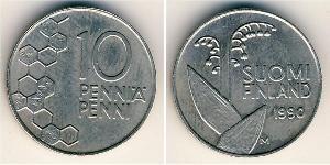 10 Penny Finland (1917 - ) Copper/Nickel