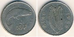 10 Penny Ireland (1922 - ) Copper/Nickel