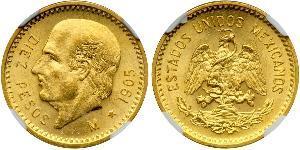 10 Peso 墨西哥 金 Miguel Hidalgo