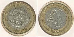 10 Peso United Mexican States (1867 - ) Bimetal