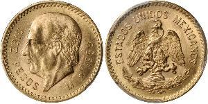 10 Peso United Mexican States (1867 - ) Gold Miguel Hidalgo