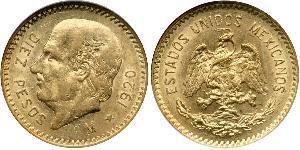 10 Peso Messico (1867 - ) Oro Miguel Hidalgo