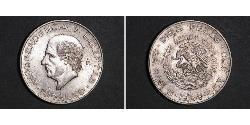 10 Peso Mexiko (1867 - ) Silber Miguel Hidalgo
