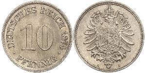 10 Pfennig 德国 銅/镍