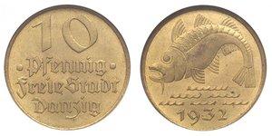 10 Pfennig Gdansk  (1454-1793) Bronze/Aluminium