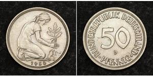 10 Pfennig West Germany (1949-1990) Copper
