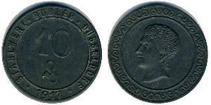 10 Pfennig 德国