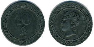 10 Pfennig Allemagne