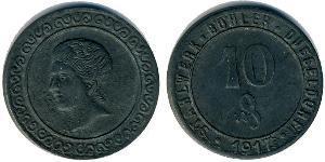10 Pfennig Germania