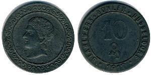 10 Pfennig Germany