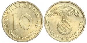 10 Pfennig Nazi Germany (1933-1945)