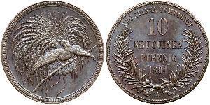 10 Pfennig Neuguinea