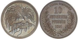 10 Pfennig New Guinea