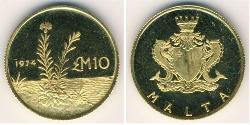 10 Pound Malta Gold