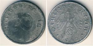 10 Reichpfennig Germania nazista (1933-1945) Zinco