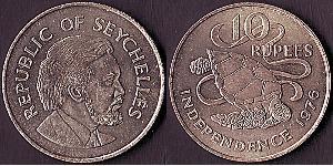 10 Rupee Seychelles