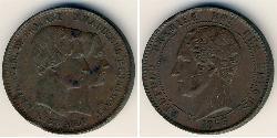 10 Sent Belgium Copper