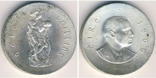 10 Shilling Irlande (1922 - ) Argent