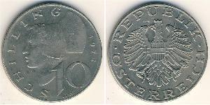 10 Shilling Republic of Austria (1955 - ) Copper/Nickel