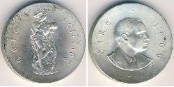 10 Shilling Irland (1922 - ) Silber