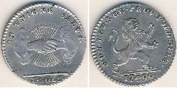 10 Sol Belgium Silver