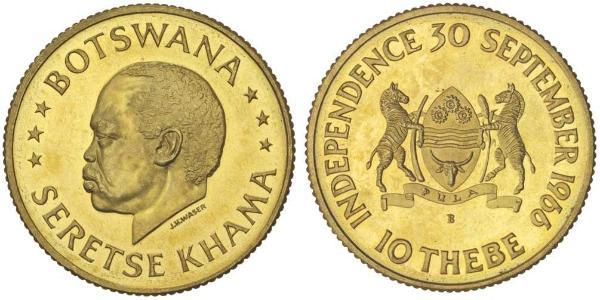 10 Thebe Botswana Gold