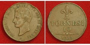 10 Tornesi Italian city-states Copper