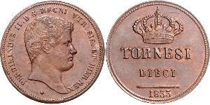 10 Tornesi Italian city-states Kupfer