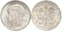 10 Zloty Second Polish Republic (1918 - 1939) Silver John III Sobieski (1629-1696)