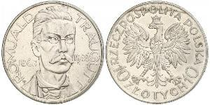 10 Zloty Second Polish Republic (1918 - 1939)  Romuald Traugutt
